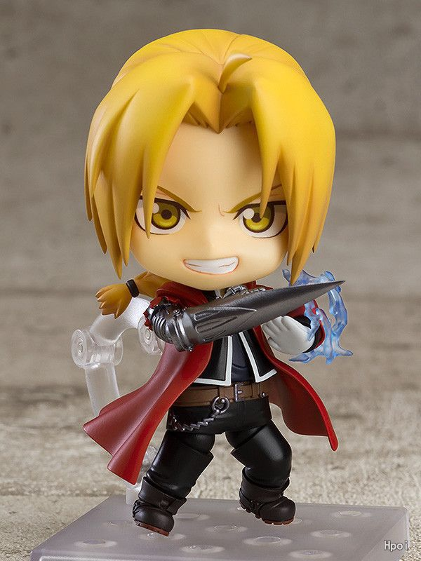 Fullmetal Alchemist Nendoroid #788 Edward Elric Action Figure PVC toys Collection figures for friends gifts anime fullmetal alchemist edward elric cosplay full metal alchemist cosplay costume