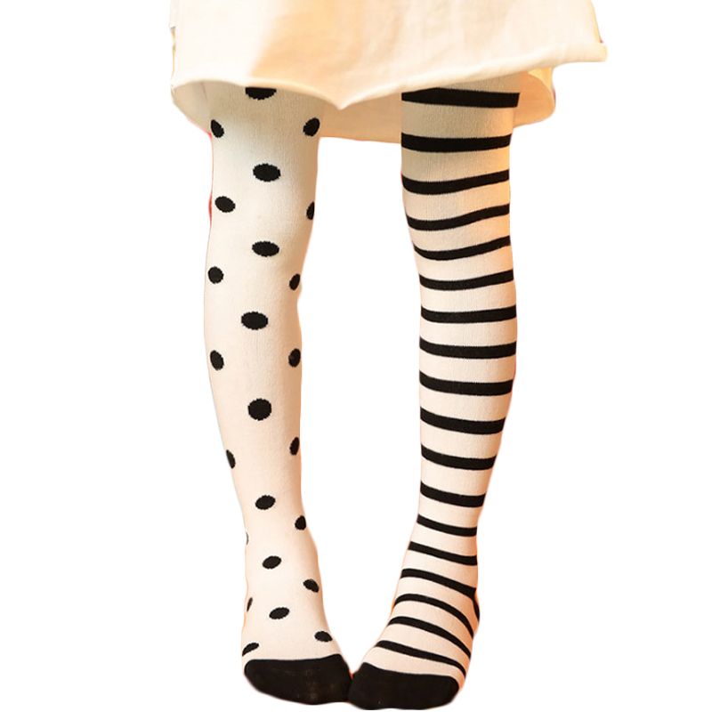 d2923d86c Winter Warm Baby Girl Tights Different 75% Cotton Pantyhose Children Black  Star and Solid Black