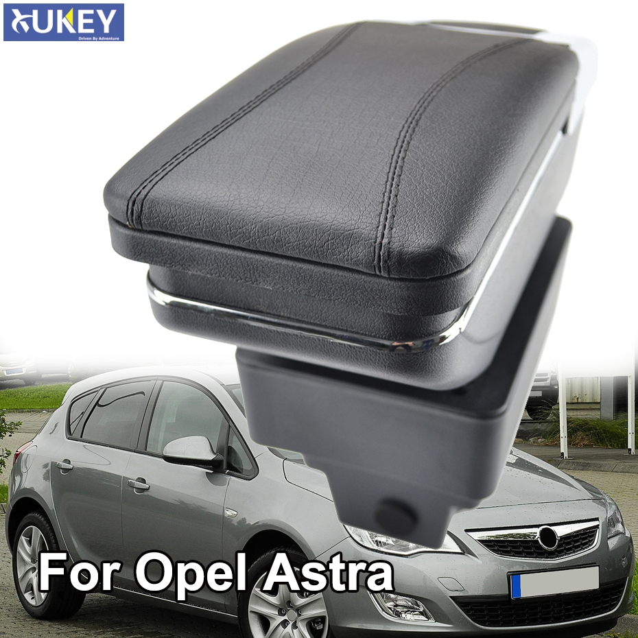 For Astra J Armrest Box Consoles Storage with Cup Holder Ashtray