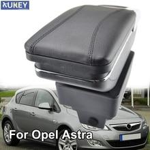 Podłokietnik dla Opel Vauxhall Astra J podłokietnik obrotowy schowek dekoracja pudełka Car Styling 2009 2010 2011