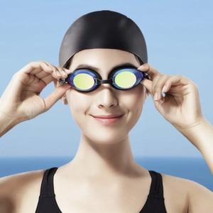 Image 5 - Xiaomi Yunmai Schwimmen Anzug HD Anti fog Goggles Nase Clip Ohrstöpsel Anti fogging Anti ohr Wasser