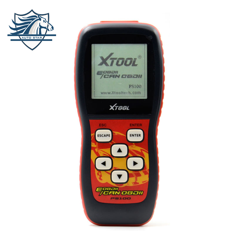 Top Sale Original free update via internet XTOOL PS100 CAN OBDII/EOBDII scanner PS 100 Code Readers & Scan Tools Free shipping free shipping 100% online update original launch creader vi creader 6 auto code scanner with russian english spanish portuguese