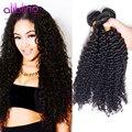 Grau 10A brasileiro Curly virgem cabelo 3 Bundle negócio não transformados virgem extensão do cabelo humano brasileiro Afro crespo tecer cabelo crespo