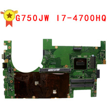 For ASUS G750 G750J G750JW G750JX Laptop Motherboard I7-4700HQ 60NB00M0-MB4060 REV:2.1 Mainboard 100% Tested Free Shipping