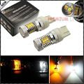 De alta Potencia Super Brillante 31-SMD Switchback Doble Color LED Turn Signal Light Bulbs Para 2015-up Ford F-150 (sin Resistencia Requerida)