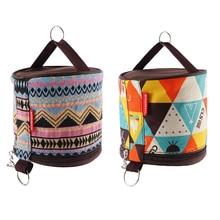 Легкий портативный рулонный тканевый чехол, держатель для хранения туалетной бумаги для кемпинга, походов, палаток для пикника на открытом воздухе