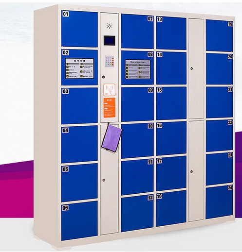 Temporary Smart Password Bar Code Fingerprint Cabinets Locker Electronic Library Fitness Center Safes Lockers Cabinets