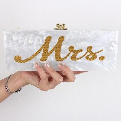 Noir Blanc Le argent D'écriture De Dans Acrylique Soirée Mme Embrayage Petit D'or or Avec Perle Sac x0SO8qnwp
