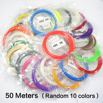 3D Pen Filament 50 Meters 10 Color Filament ABS 3D 1.75 Material