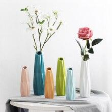 Modern minimalist desktop ceramic vases Floral art floral small fresh simulation flower Nordic ornament Home wedding decor