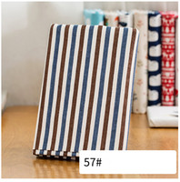 1 Meter Stripe Printed Cotton Linen Fabric For Sewing Curtain Sofa Table Cloth Quilting Crafts Handmade
