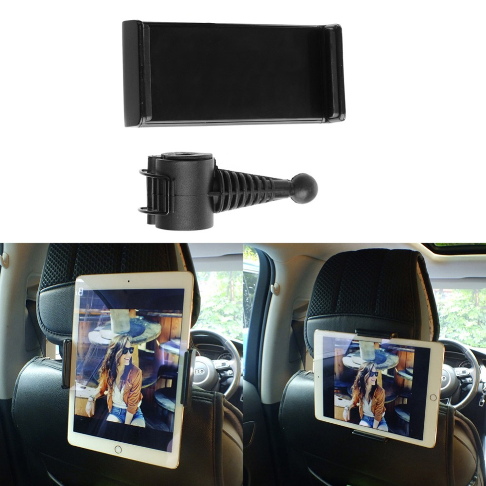 Universal 360 Degree Rotating Car Back Seat Headrest Mount Holder Stand For ipad 2 3 4 5 Air Pro Galaxy Tab 9-11 Inch Tablet PC