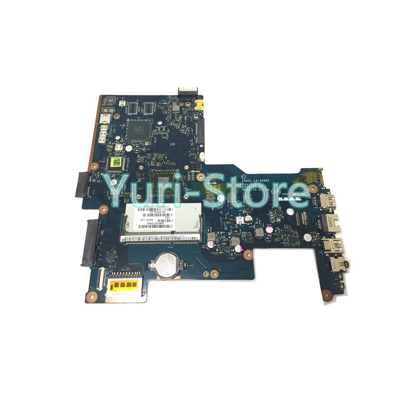 NOKOTION ZS051 LA-A996P laptop motherboard for HP 15-G 750634-501 750634-001 Series main board DDR3 A4-5000 CPU warranty 60 days nokotion 744189 001 745396 001 main board for hp 215 g1 laptop motherboard ddr3 with cpu zkt11 la a521p warranty 60 days