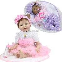 22 Inch 55cm Silicone Reborn Baby Dolls Life Like Reborn Dolls Simulation Baby Juguete Bebe Reborn