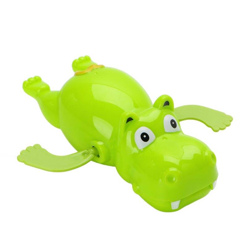1 шт. детские купальный поплавок бегемот животных заводной забавные игрушки баловаться