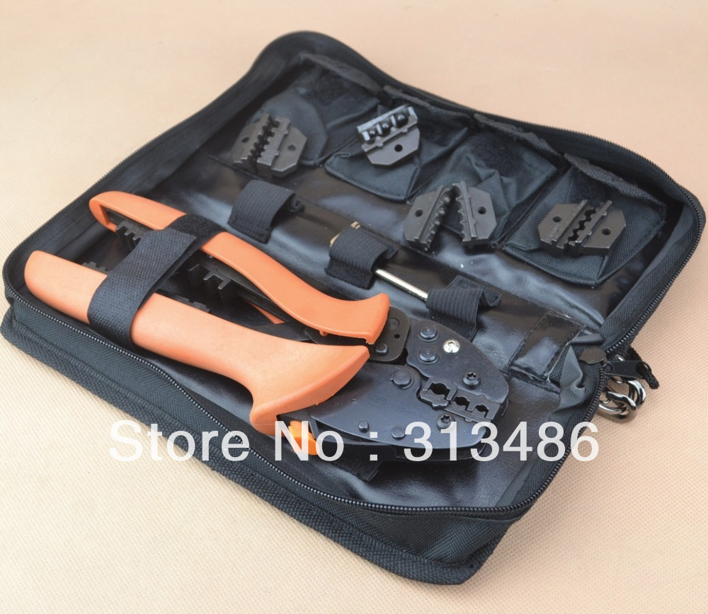 buy mini combination crimping tool kits crimping piler 0 5 6mm2 4pcs wire. Black Bedroom Furniture Sets. Home Design Ideas
