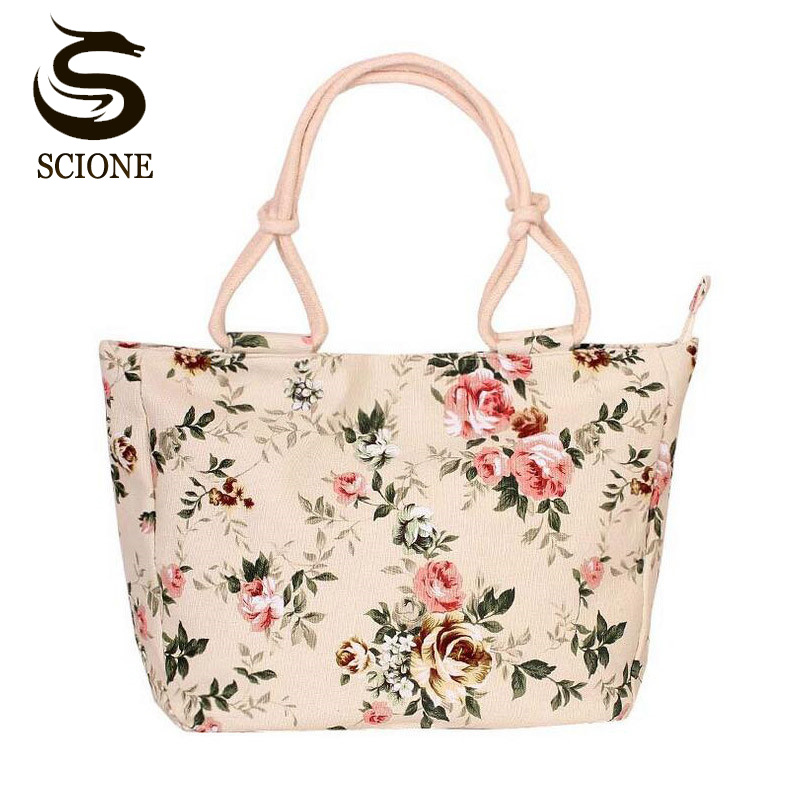 2017 Fashion Folding Women Big Size Handbag Tote Ladies Casual Flower Printing Canvas Graffiti Shoulder Bag Beach Bolsa Feminina fashionable flower printing women handbags canvas women beach bag casual shopping tote mummy shoulder bag drop shipping jxy820