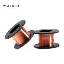 WALFRONT 5pcs/Set Enameled Wires Copper Soldering Wire DIY Insulation Welding Line Magnet Winding Wire Repair Tools Coil Cable(China)