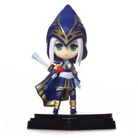 2017 New Hot Sale Game LOL 14cm PVC Action Figure Ashe Kids Toy Online Game Collection Doll Heros Figurine Deluxe Anime RT040