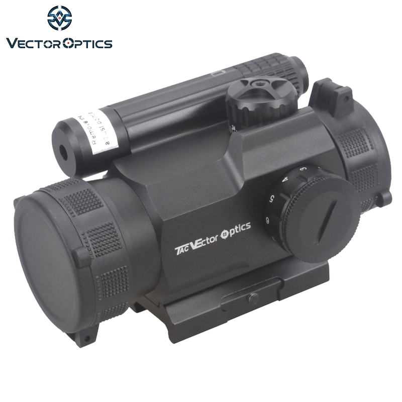 Vector Optics Rayman 1x30 Red Dot Scope GunSight with Side RED Laser Sight Combo AK15 AK 47 Weapon Sight fit Picatinny Rail vector optics rayman 1x30 tactical 21mm weaver rise mount red laser gun reflex red dot sight scope