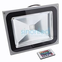 50 Watt 110 V 220 V 240 V High Power Led-flutlicht Lampe Waschen Wasserdichte Aussen Warm/kühles Weiß/Rot/Grün/Blau/RGB & Remote