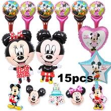 Здесь можно купить   5pcs/lot happy birthday balloons cartoon mickey foil balloons for children mickey mouse birthday party balloons Festive & Party Supplies