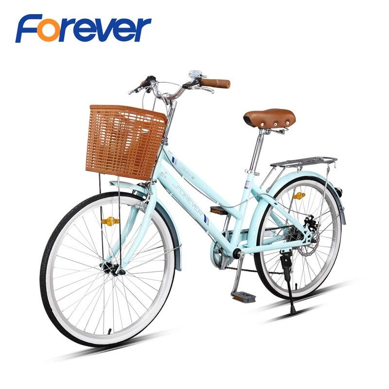 FOREVER vtt 27 vitesses Double frein à disque hydraulique vélo léger Al alliage cadre Cycle Suspension fourche vtt 27.5 po