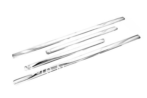 ФОТО Car Styling Chrome Side Door Molding Strip For Ford Focus MK2 Hatch 2006-2008