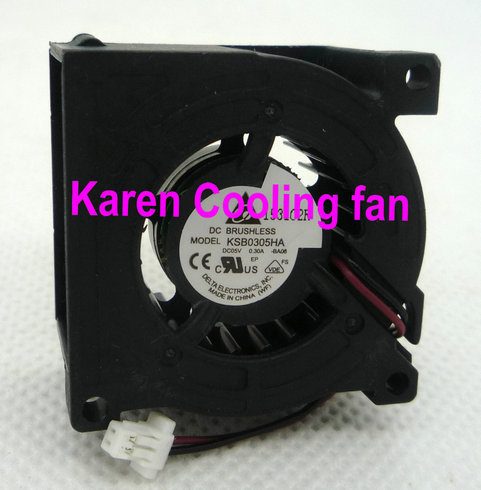 DELTA 3cm KSB0305HA 3010 5v 0.3a 2Wire Cooling fan обогреватель delta d 0305 pink