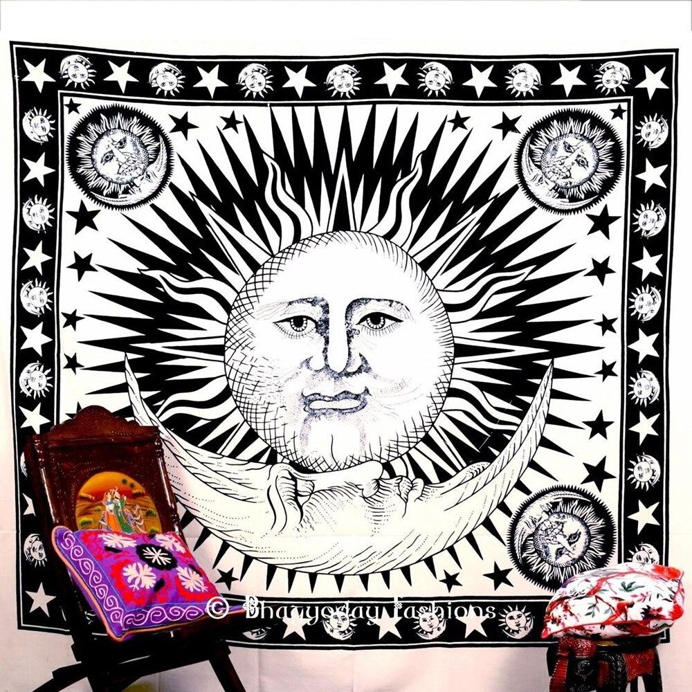 Гобелен чехол на спинку кровати Придверный коврик Современный Пляжный коврик из полиэстера Boho Мандала диван накидки пледы спальный настенная крышка - Цвет: 5