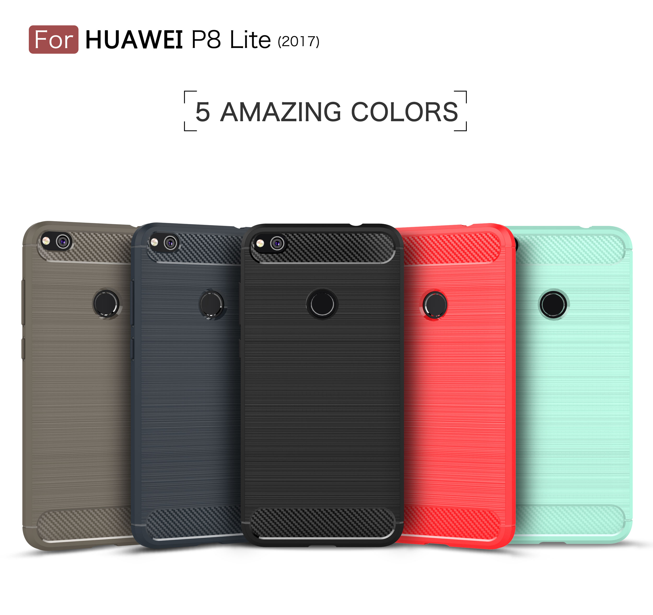 2017 <font><b>Huawei</b></font> p8lite Case For 5.2