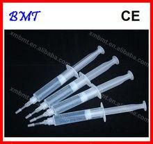 10 teile/los 10ml Zähne Bleaching Gel Spritze Zahn Bleichen Whitern Gel Kit 6%, 12%, 16%, 25%, 35% HP Wasserstoff Peroxid/CE