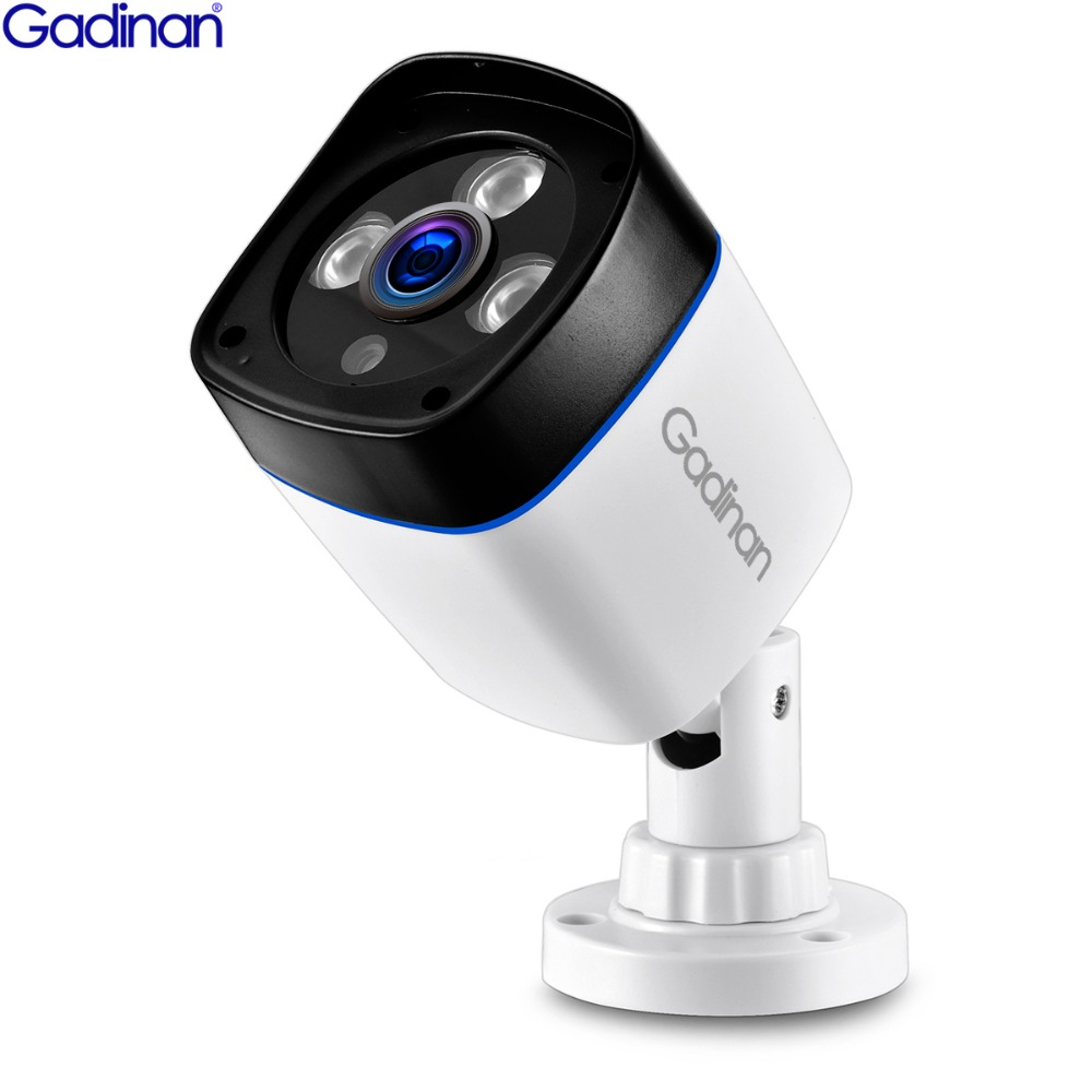 GADINAN H.265 3MP SONY IMX323 2048*1536 H.264 960 p 720 p IP Caméra de Surveillance Vidéo Bullet Extérieur IR CCTV ONVIF DC 12 v 48 v PoE
