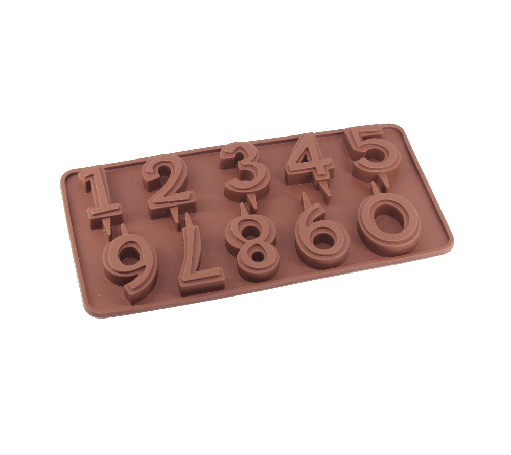 Popular Number Chocolate Molds-Buy Cheap Number Chocolate Molds ...