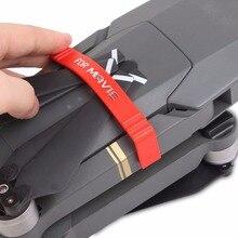 DJI MAVIC Propeller Stabilizer Clip Fixing Parts Fixators Holder for DJI MAVIC PRO/Platinum Drone Black&Red Accessories