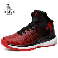 Man High Top Jordan Basketball Shoes Men's Cushioning Basketball Sneakers Non slip Breathable Outdoor Sports Jordan Retro Shoes