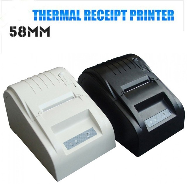 Protable 58mm POS Line Thermal Dot Receipt Printer 58mm usb thermal printer For supermarket
