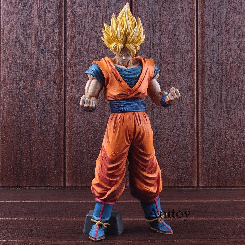 Dragon Ball Z Grandista Goku Super Saiyan Son Gokou Manga Dimensions PVC Dragon Ball Figure Action à collectionner modèle jouet 31 cm