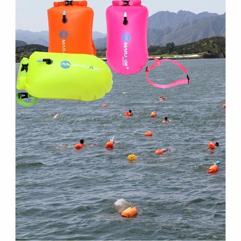 Água de Natação de Reboque Bóia de Segurança de Flotação Pvc Tamanho Grande à Prova d' Flutuador Natação Bóia Inflável Air Bag