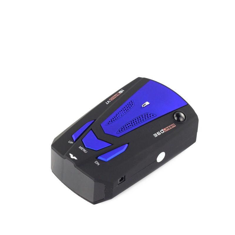 Анти Антирадары полный диапазон X K НК ку ка Лазерная VG-2 V7 светодио дный дисплей Обнаружение голосовой оповещения английский/русский