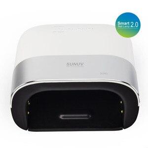 Image 4 - SUN3 2.0 חכם 48W UV LED מנורת עם טיימר זיכרון בלתי נראה דיגיטלי טיימר תצוגת נייל ייבוש מכונה ג ל מנורה