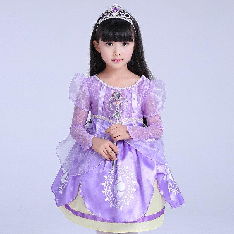 Compras baratas Año Nuevo niños princesa vestido de fiesta niños ...