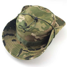 ccd8424b9895c Nepalese Boonie Hats Tactical Airsoft Hunter Camouflage Tree Bucket Hat  Accessories Army American Military Men