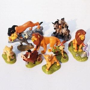 Image 2 - Brinquedos de rei de leão, simba nala timon pumbaa, modelo bonito dos desenhos animados, animal, brinquedos para crianças