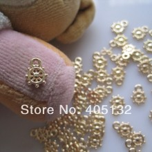 MP-07 3D 50 pcs/bag Logam Kecil Liontin Aksesoris Perhiasan Nail Art Deco Logam(China)