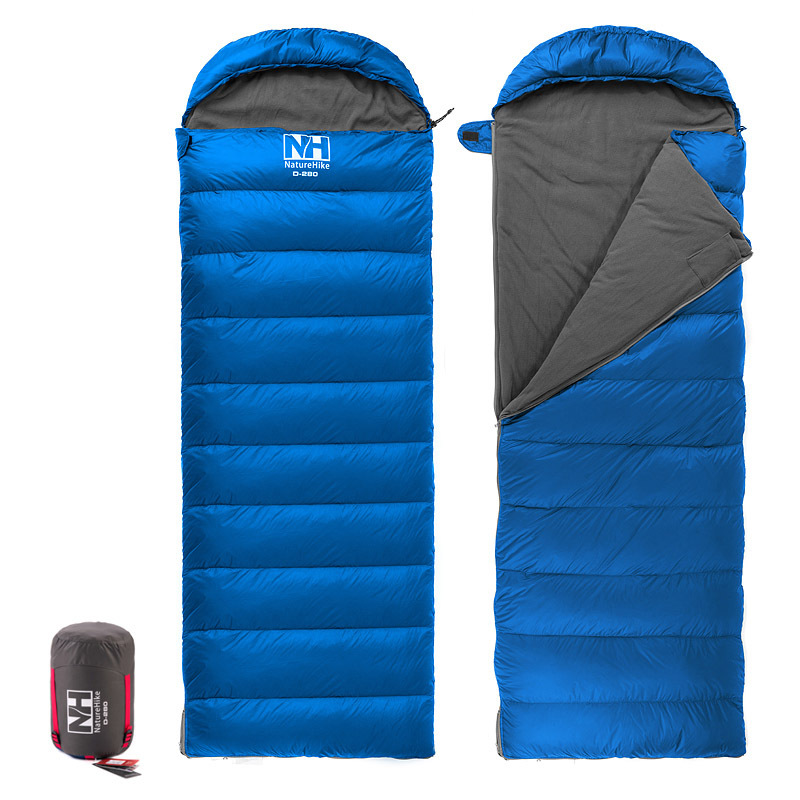 Naturehike New Arrival Envelope Sleeping Bag Camping sleeping bags down feather NH15S007-D цена 2016