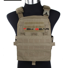 TMC Adaptive Vest 2018 Ver. Cordura 500D Coyote Brown MOLLE Military Tactical AVS Vest\u0028SKU050783\u0029