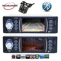 support rear Camera 1 Din Car Radio Stereo MP4 Bluetooth Remote Control AUX USB TFT SD MMC FM EQ Rearview Parking car audio MP5
