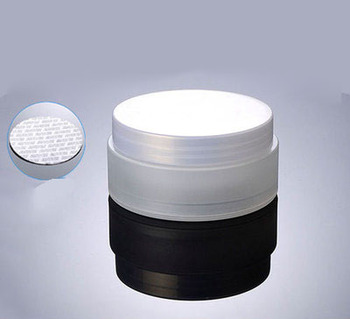 100G frosted PP material double layer cream bottle,plastic cream mask Jar with transparent frosted lid ,100g Cosmetic Packaging