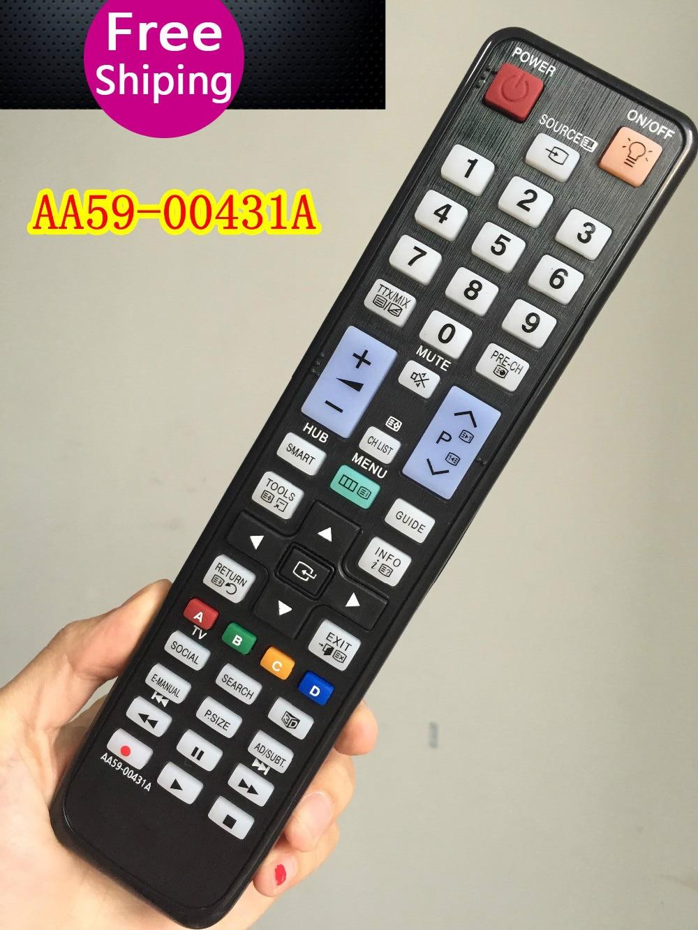 Original Remote Control AA59 00431A Fit for SAMSUNG SMART LCD LED TV UE46D8000YS UA55D7000LM